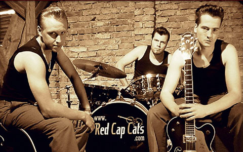 ROCK&ROLL PARTY mit RED CAP CATS