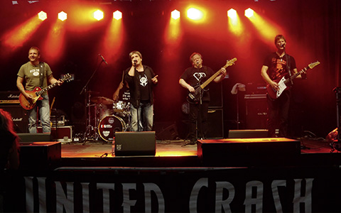 MUNICH ROCK mit UNITED CRASH
